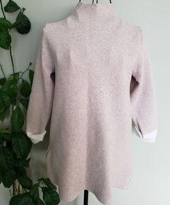 Nanette Lapore minimalist thick high neck sweater